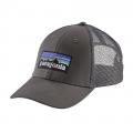Forge Grey w/Forge Grey - Patagonia - P-6 Logo LoPro Trucker Hat