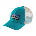True Teal - Patagonia - P-6 Logo LoPro Trucker Hat