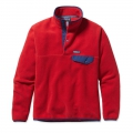 Totally Red - Patagonia - Men's LW Synch Snap-T P/O