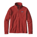 Ramble Red - Patagonia - Women's Better Sweater 1/4 Zip