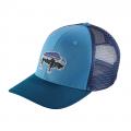 Radar Blue - Patagonia - Fitz Roy Bison Trucker Hat