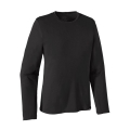 Black - Patagonia - Men's L/S Cap Daily T-Shirt