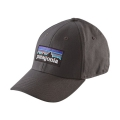 Forge Grey - Patagonia - P-6 Logo Stretch Fit Hat