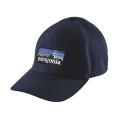 Navy Blue - Patagonia - P-6 Logo Stretch Fit Hat