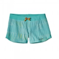 Shadow Pop: Howling Turquoise - Patagonia - Women's Nine Trails Shorts