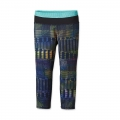 Shadow Popa: Navy Blue - Patagonia - Girls' Centered Crop Tights