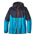 Navy Blue w/Grecian Blue - Patagonia - Men's Alpine Houdini Jacket