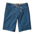 Glass Blue w/Navy Blue - Patagonia - Men's Stretch Wavefarer Board Shorts - 21 in.