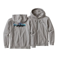 Feather Grey - Patagonia - Men's Fitz Roy Trout MW Full-Zip Hoody