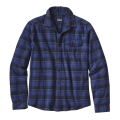 Navigate: Navy Blue - Patagonia - Men's L/S Lightweight Fjord Flannel Shirt