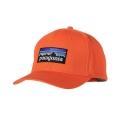 Campfire Orange - Patagonia - P-6 Logo Roger That Hat