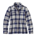 Tree Crown: Harvest Moon Blue - Patagonia - Women's L/S Fjord Flannel Shirt