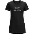 BLACK/WHITE - Arc'teryx - Arc'word SS T-Shirt Women's