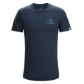 Heathered Admiral - Arc'teryx - Bird Emblem SS T-Shirt Men's