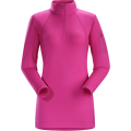 Violet Wine - Arc'teryx - Rho LT Zip Neck Women's