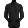 Black - Arc'teryx - Rho AR Zip Neck Men's