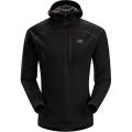 Black - Arc'teryx - Konseal Hoody 3/4 Zip Men's