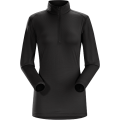 Black - Arc'teryx - Phase SL Zip Neck LS Women's