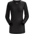 Black - Arc'teryx - Phase AR Crew LS Women's