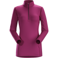 Lt Chandra - Arc'teryx - Phase AR Zip Neck LS Women's