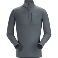 Nautic Grey - Arc'teryx - Satoro AR Zip Neck LS Men's