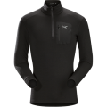 Black - Arc'teryx - Satoro AR Zip Neck LS Men's
