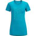 Cerulean - Arc'teryx - Tools Rule SS T-shirt Women's