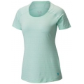 Sea Ice - Mountain Hardwear - Women's Mighty Stripe Short Sleeve T
