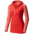 Red Hibiscus, Paradise Pink - Mountain Hardwear - Women's Butterlicious Long Sleeve Hoody