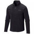 Black - Mountain Hardwear - MicroChill Lite Zip T