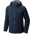 Hardwear Navy - Mountain Hardwear - Stretch Ozonic Jacket