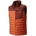 Dark Copper, Redwood - Mountain Hardwear - Dynotherm Down Vest