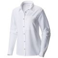 White - Mountain Hardwear - Canyon Long Sleeve Shirt