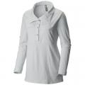 White - Mountain Hardwear - Women's Citypass Long Sleeve Popover