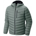 Thunderhead Grey - Mountain Hardwear - StretchDown Hooded Jacket