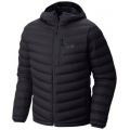 Black - Mountain Hardwear - StretchDown Hooded Jacket