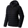 Black - Mountain Hardwear - StretchDown Hooded Jacket