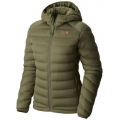 Stone Green - Mountain Hardwear - StretchDown Hooded Jacket