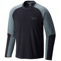 Black - Mountain Hardwear - Microchill Lite Long Sleeve Crew