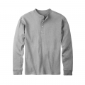 Heather Grey - Mountain Khakis - Trapper Henley Shirt