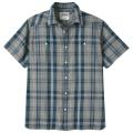 Plaid - Mountain Khakis - Men's Ace Indigo Short Sleeve Shirt