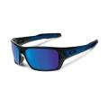 Black Ink/Sapphire Iridium - Oakley - Turbine Iridium Sunglasses - Men's
