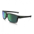 Grey Smoke/Jade - Oakley - Mainlink Iridium Sunglasses - Men's - Grey