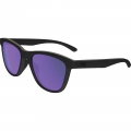 Matte Black / Violet Iridium Polarized - Oakley - Moonlighter Polarized Womens Sunglasses