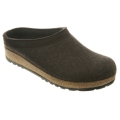 Smokey Brown - Haflinger - Wool Felt Grizzly GZL Clogs