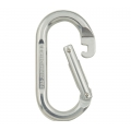 Polished - Black Diamond - Oval Carabiner