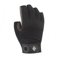Black - Black Diamond - Crag Half-Finger Gloves