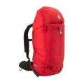Fire Red - Black Diamond - Saga 40 JetForce Avalance Airbag