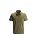 Burnt Olive - Black Diamond - Men's S/S Stretch Operator Shirt