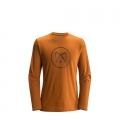 Copper - Black Diamond - Men's L/S  Cobra Tool Tee